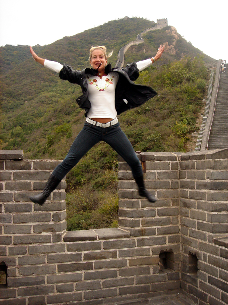 Great Wall jump, Beijing