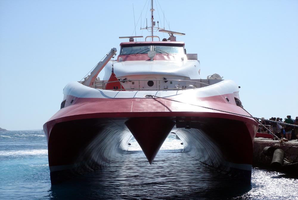 Ferry, Mykonos