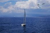 Sailboat, Cyclades