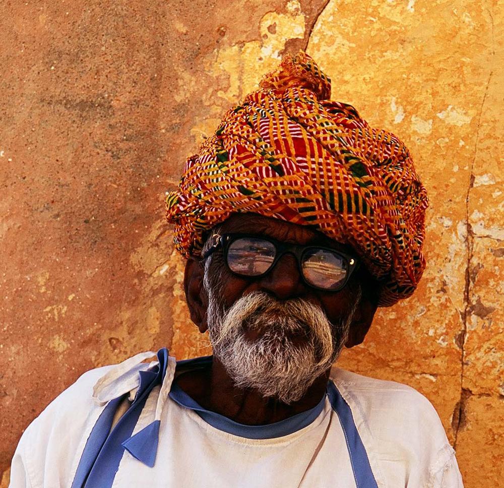 Amber Palace reflection, Jaipur