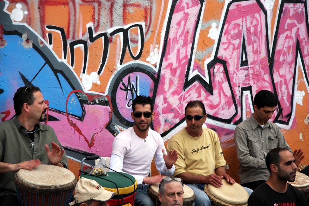 Drummers, Tel Aviv