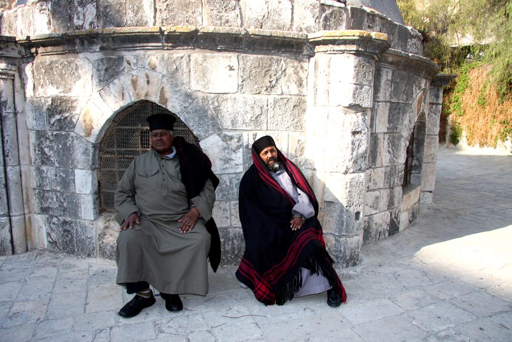 Holy men, Jerusalem