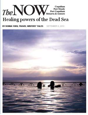 Healing Powers of the Dead Sea by Donna Yuen - Coquitlam Now